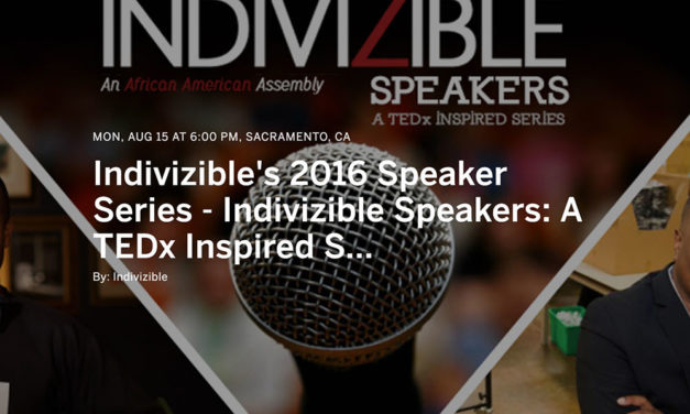 Indivizible's 2016 Speaker Series Featuring Tre Borden and Chris Johnson