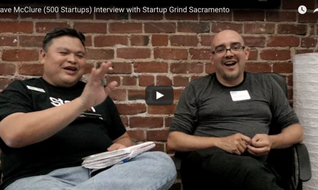 500 Startups Co-Founder Dave McClure:  Have Fun, Get Sh*t Done