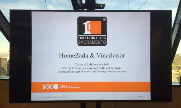 HomeZada and vinadvisor present at 1 Million Cups