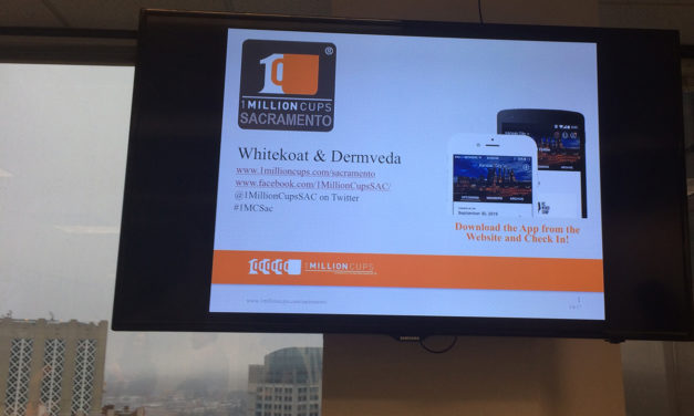 Whitekoat & Dermveda Pitch at 1 Million Cups