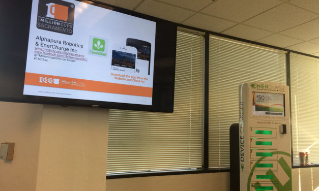 Alphapura Robotics and EnerCharge Present at 1 Million Cups