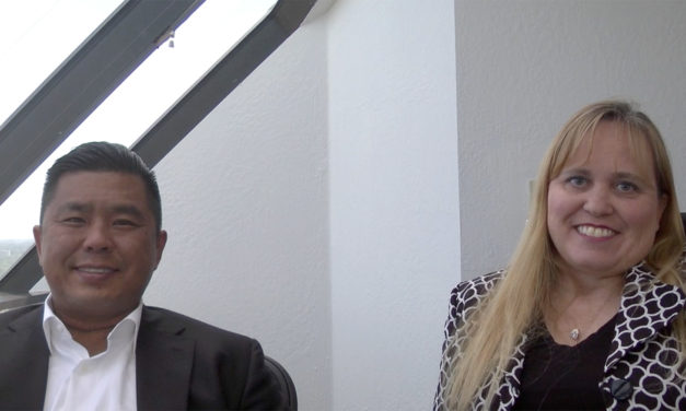 apiNXT Cofounders Henry Chang and Charlotte Danielsson