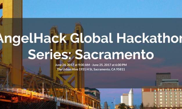 AngelHack Global Hackathon Series Comes to Sacramento June 24-25