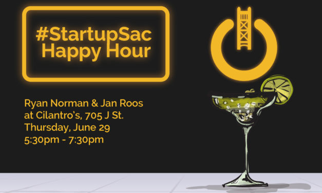 StartupSac Happy Hour with Ryan Norman and Jan Roos at Cilantros