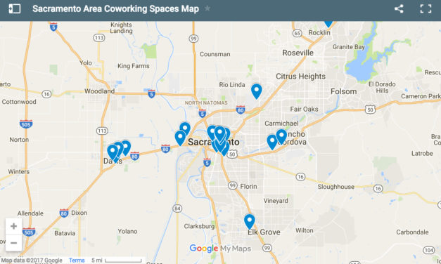 Relaunching & Refreshing the Sacramento Coworking Spaces Map