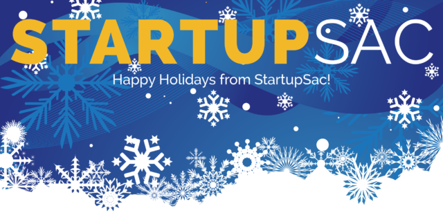 Happy Holidays from StartupSac